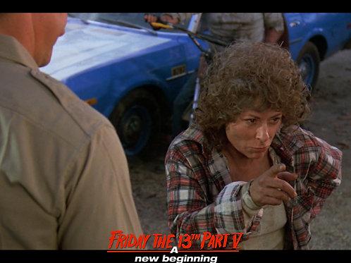 Carol Locatell Friday the 13th Part 5 - Ethel 3 Point- 8X10