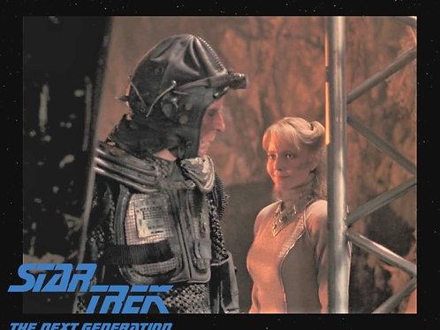 Lisa Wilcox - Star Trek: TNG - Evil Smile - 8X10