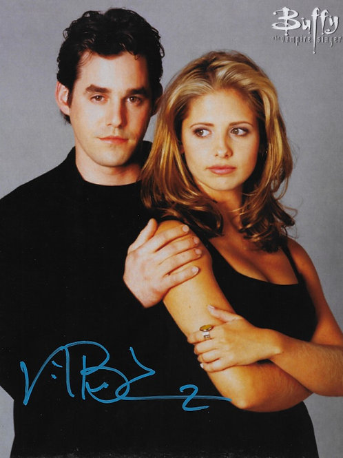 Nicholas Brendon signed 8X10 with Buffy