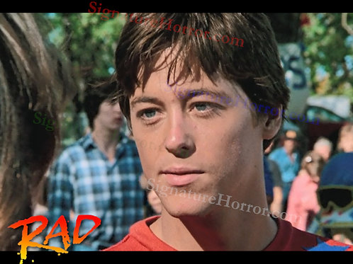 Bill Allen as Cru Jones in RAD - Pre Race 2 - 8X10