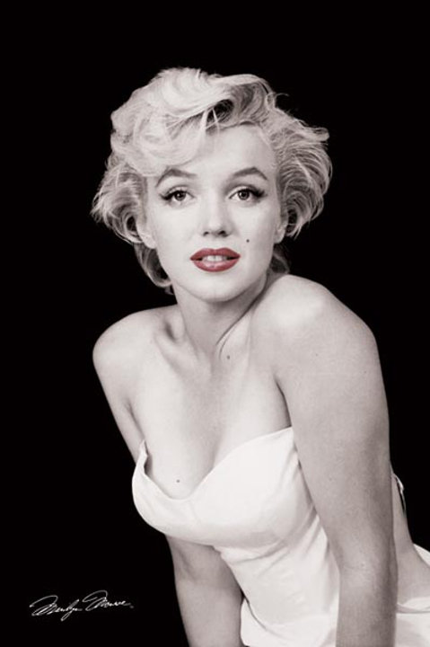 """Marilyn Monroe Red Lips 24""""X36"""" Poster"""