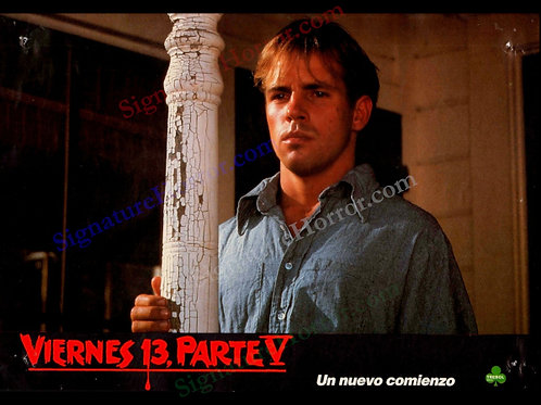 John Shepherd - Friday the 13th Part V - R.I.P. Joey Spanish Lobby - 8X10