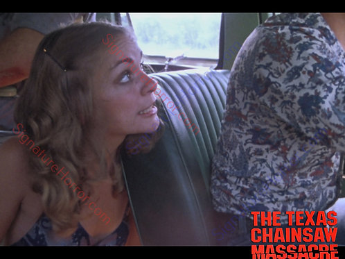 Teri McMinn Texas Chainsaw Massacre - Van 2 - 8X10