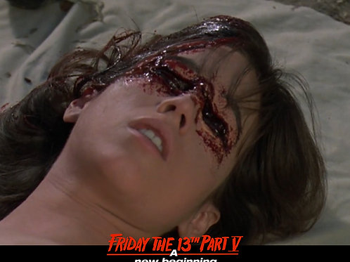 Deborah Voorhees as Tina Friday the 13th Part 5 - Death Scene 8X10