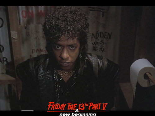 Miguel A Nunez Jr Friday the 13th Part 5 - Eye Contact - 8X10