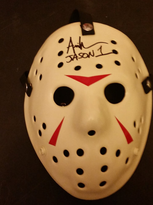 Ari Lehman - Friday the 13th Mask - Clean Part 3 on JDF Blank