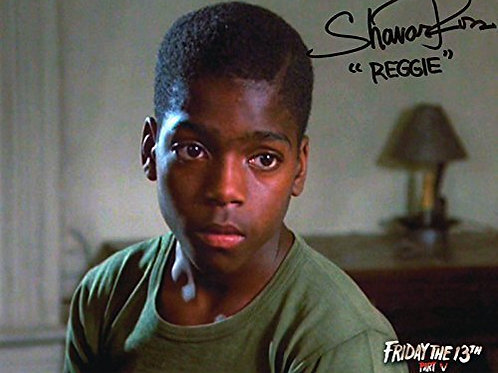 Shavar Ross Friday the 13th Part 5 - 8X10 Reggie Meeting Tommy
