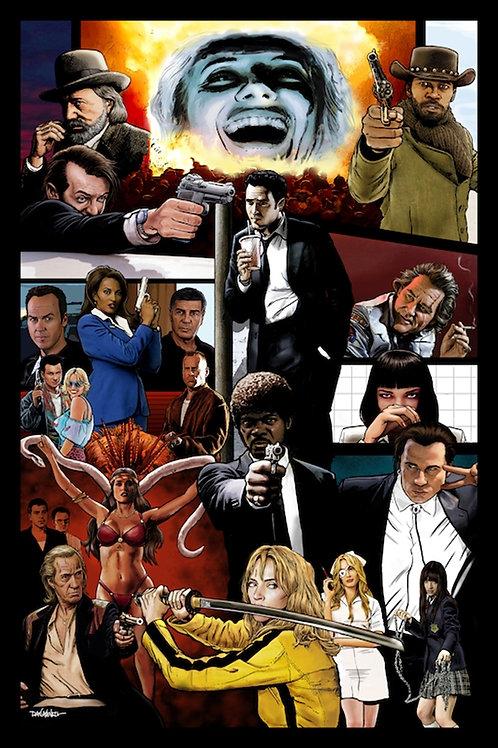 "Tarantino Universe 24""X36"" Poster"