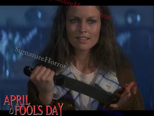 Deborah Foreman - April Fool's Day - The Reveal 4 - 8X10