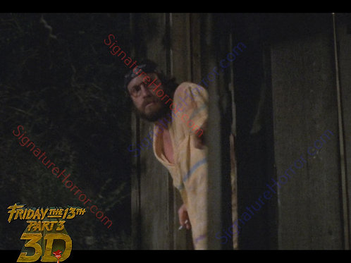 David Katims - Friday the 13th Part 3 - Outhouse 15 - 8X10