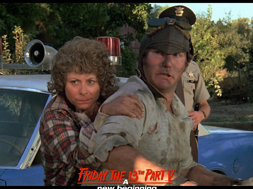 Carol Locatell and Ron Sloan Friday the 13th Part 5 - Ride On 8X10