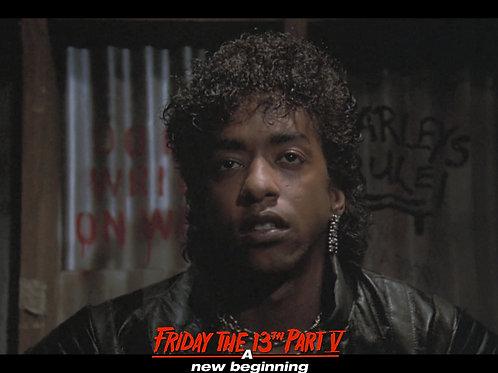 Miguel A Nunez Jr Friday the 13th Part 5 - Relief - 8X10