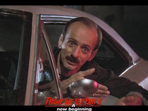 Bob DeSimone Friday the 13th Part V - Car 3 Hands 8X10
