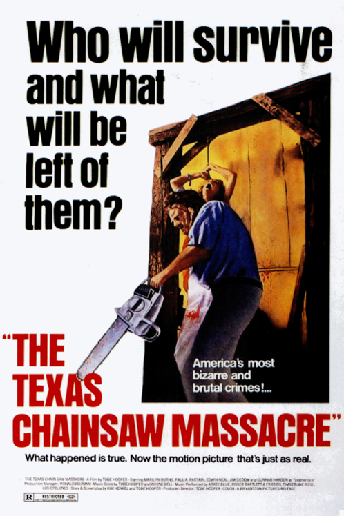 11X17 The Texas Chainsaw Massacre Poster - Signed by up to 4