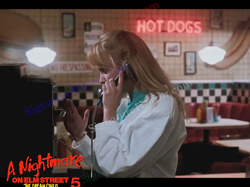 Lisa Wilcox - NOES 5: The Dream Child - Diner 4 - 8X10