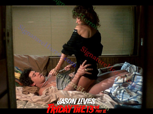 Darcy DeMoss and Tom Fridley - Jason Lives: F13th Part 6 - RV Fun 2 - 8X10