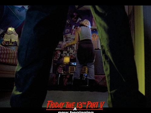 Tiffany Helm as Violet Friday the 13th Part 5 - His Legs 8