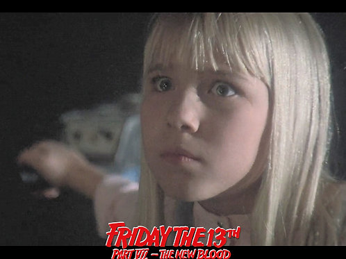Jennifer Banko - Friday the 13th Part VII: The New Blood - The Look Closeup -