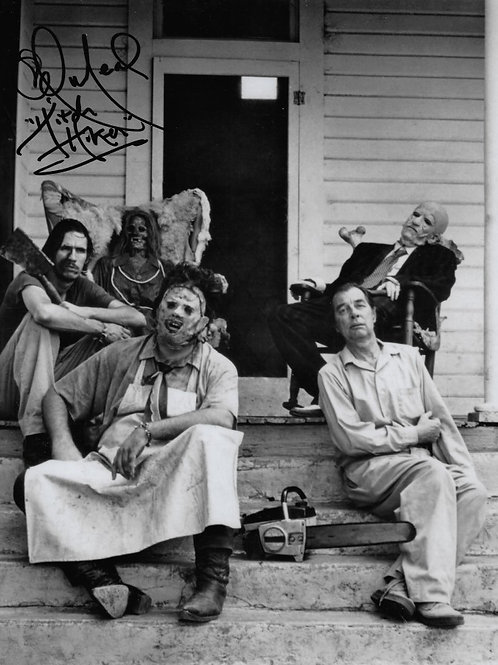 Ed Neal and John Dugan The Texas Chainsaw Massacre - Family on Porch - 8X10