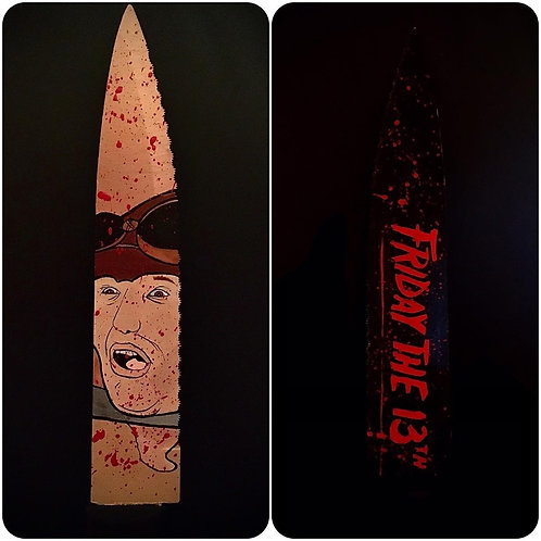 Ron Sloan Signed Knife with Part 5 Artwork
