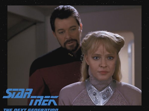 Lisa Wilcox - Star Trek: TNG - With Riker 1 - 8X10