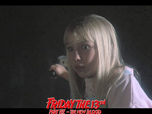 Jennifer Banko - Friday the 13th Part VII: The New Blood - Shock - 8X10
