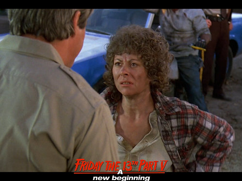 Carol Locatell Friday the 13th Part 5 - Ethel 1- 8X10