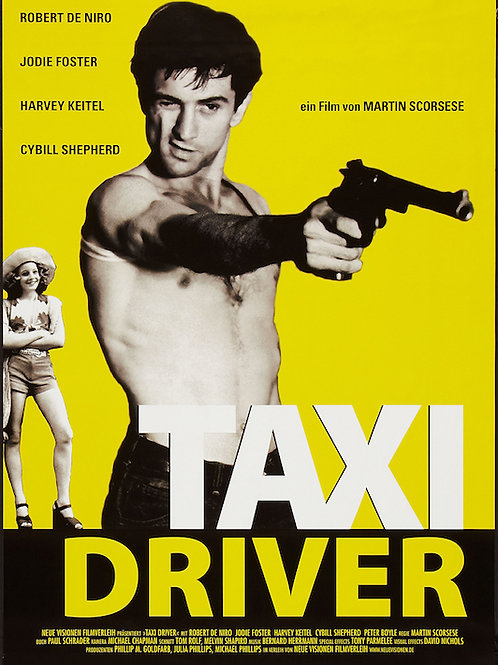 """Taxi Driver 24""""X36"""" Poster"""