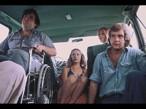Teri McMinn - TCM - Hitchhiker with Franklin, Sally, Kirk 1 - 8X10