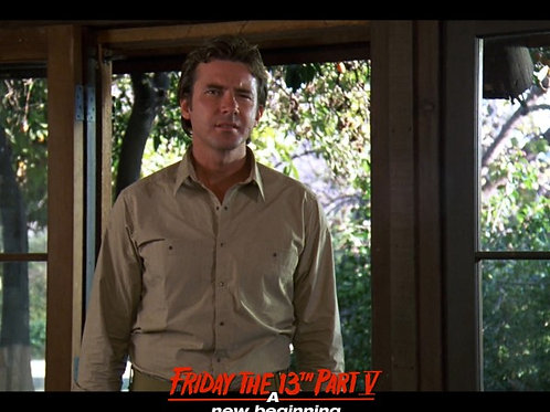 Richard Young as Matt Friday the 13th Part 5 - Breakfast Arrival 8X10