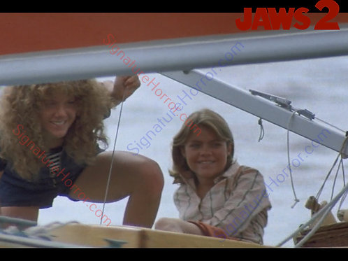 Donna Wilkes - Jaws 2 - First Sail 1 - 8X10