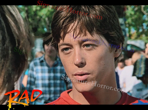 Bill Allen as Cru Jones in RAD - Pre Race 1 - 8X10