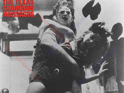 Teri McMinn Texas Chainsaw Massacre - Failed Escape 3 B&W - 8X10