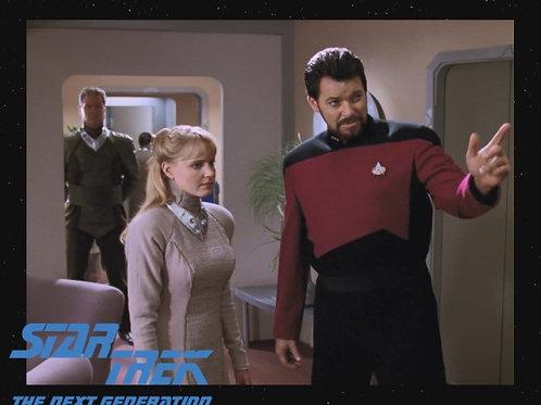 Lisa Wilcox - Star Trek: TNG - Meeting Riker - 8X10