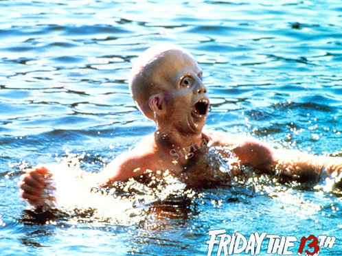 Ari Lehman - Friday the 13th - Splash Blue - 8X10