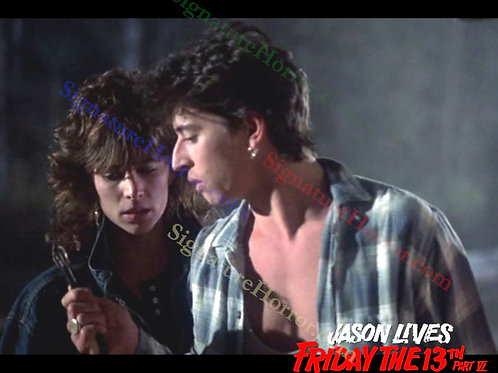 Darcy DeMoss and Tom Fridley - Jason Lives: F13th Part 6 - Plug - 8X10