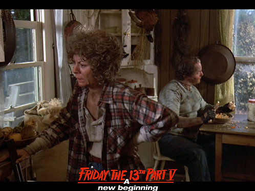 Carol Locatell Friday the 13th Part 5 - Ethel An Ugly Man - 8X10