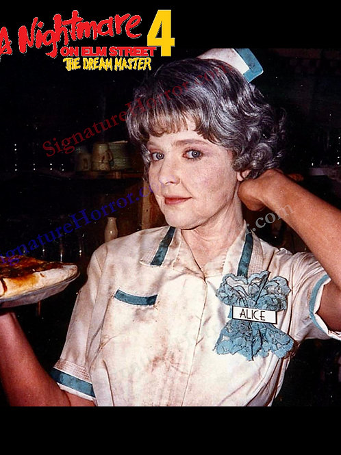 Lisa Wilcox - NOES 4: The Dream Master - BTS Aged Alice - 8X10