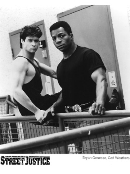 Bryan Genesse - Street Justice - With Carl Weathers - 8X10