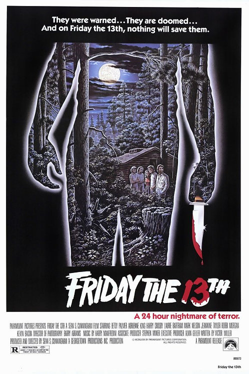 Harry Manfredini Friday the 13th 11X17 Movie Poster