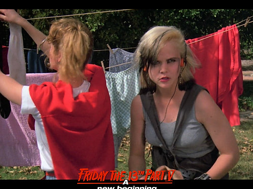 Tiffany Helm as Violet Friday the 13th Part 5 - Piss Off 8