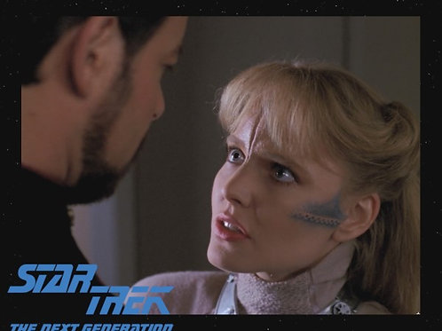 Lisa Wilcox - Star Trek: TNG - Conversation - 8X10