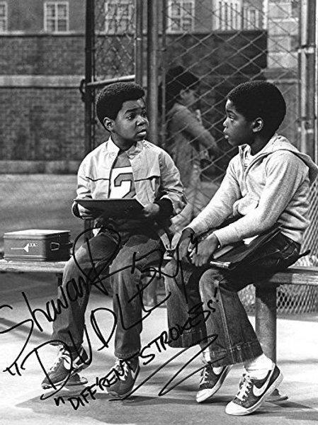 Shavar Ross Diff'rent Strokes - 8X10 Dudley and Arnold (Gary Coleman)