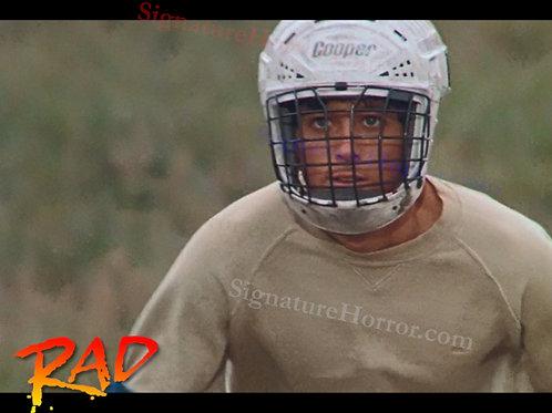 Bill Allen as Cru Jones in RAD - Helmet 4 - 8X10