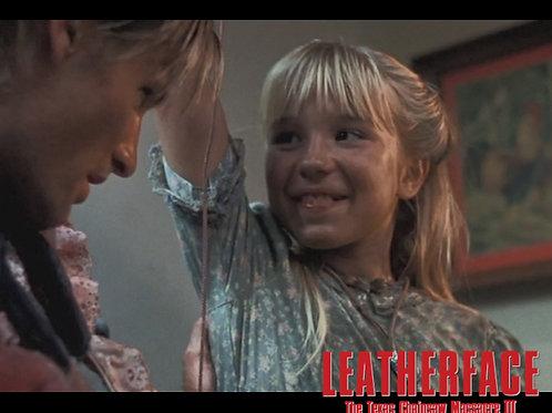 Jennifer Banko - Leatherface: TCM III - On Three - 8X10