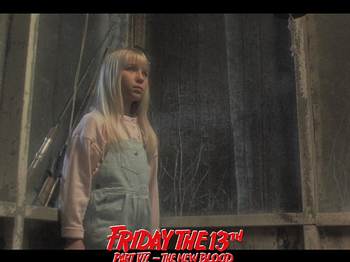 Jennifer Banko - Friday the 13th Part VII: The New Blood - Porch 8X10