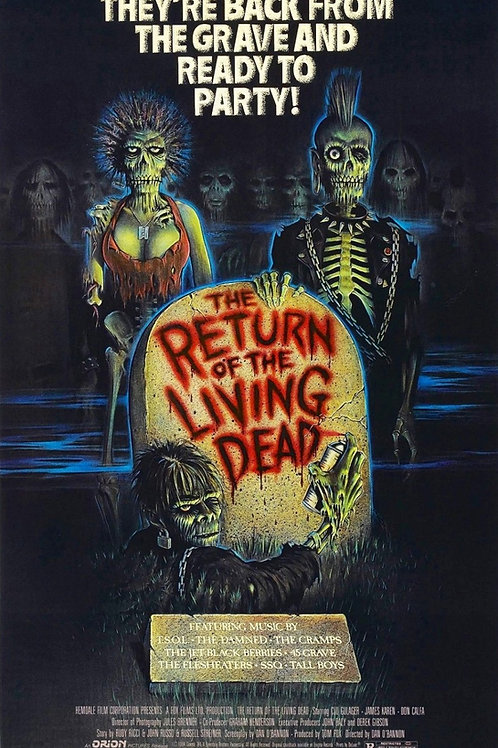 Miguel A Nunez Jr The Return of the Living Dead 24X36 Poster