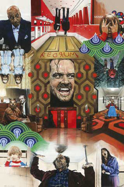 """The Shining Collage 24""""X36"""" Poster"""