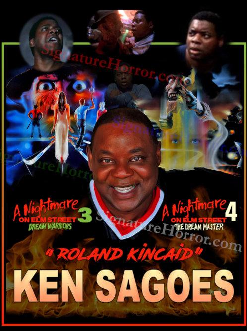 Ken Sagoes - NOES 3 - 4 - Collage - 8X10