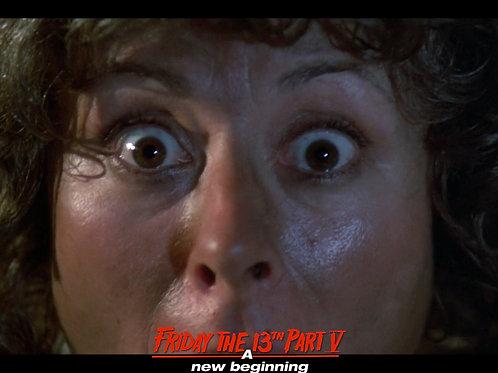 Carol Locatell Friday the 13th Part 5 - Ethel Death Closeup - 8X10